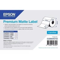 Premium Matte Label - utstansede etiketter 102 mm x 76 mm (1570 labels)