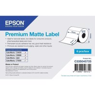 Premium Matte Label - utstansede etiketter 76 mm x 127 mm (960 labels)