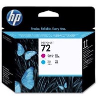 HP 72 Magenta and Cyan Printhoved | C9383A