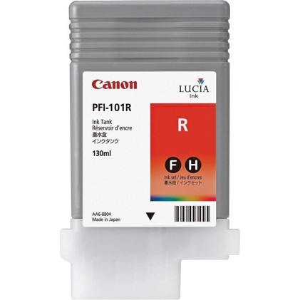 Canon Red PFI-101R - 130 ml blekkpatron