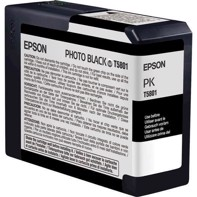 Epson Photo Black 80 ml blekkpatron T5801 - Epson Pro 3800 og 3880