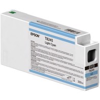 Epson Light Cyan T8245 - 350 ml blekkpatron