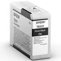 Epson Photo Black 80 ml blekkpatron T8501 - Epson SureColor P800