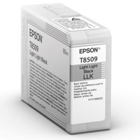 Epson Light Light Black 80 ml blekkpatron T8509 - Epson SureColor P800