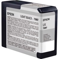 Epson Light Black 80 ml blekkpatron T5807 - Epson Pro 3800 og 3880