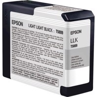 Epson Light Light Black 80 ml blekkpatron T5809 - Epson Pro 3800 og 3880