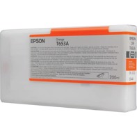 Epson Orange T653A - 200 ml blekkpatron til Epson Pro 4900