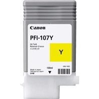 Canon Yellow PFI-107Y - 130 ml blekkpatron