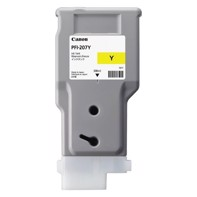 Canon Yellow PFI-207Y - 300 ml blekkpatron