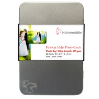 Hahnemühle Photo Rag Ultra Smooth Photo card 305 g/m² - 10x15 cm