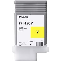 Canon Yellow PFI-120 Y - 130 ml blekkpatron
