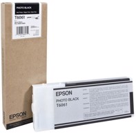 Epson Photo Black 220 ml blekkpatron T6061 - Epson Pro 4800/4880