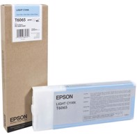 Epson Light Cyan 220 ml blekkpatron T6065 - Epson Pro 4800 og 4880