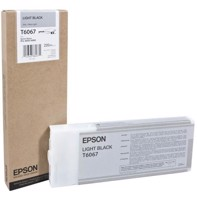 Epson Light Black 220 ml blekkpatron T6067 - Epson Pro 4800/4880