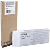 Epson Light Light Black 220 ml blekkpatron T6069 - Epson Pro 4800/4880