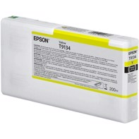Epson Yellow T9134 - 200 ml blekkpatron