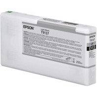 Epson Light Black T9137 - 200 ml blekkpatron